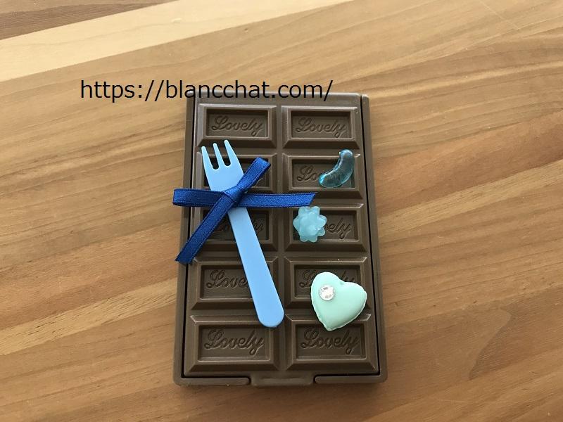 チョコミラーデコ